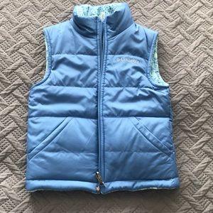 Kids XS 6/7 Columbia Reversible Puffer Vest